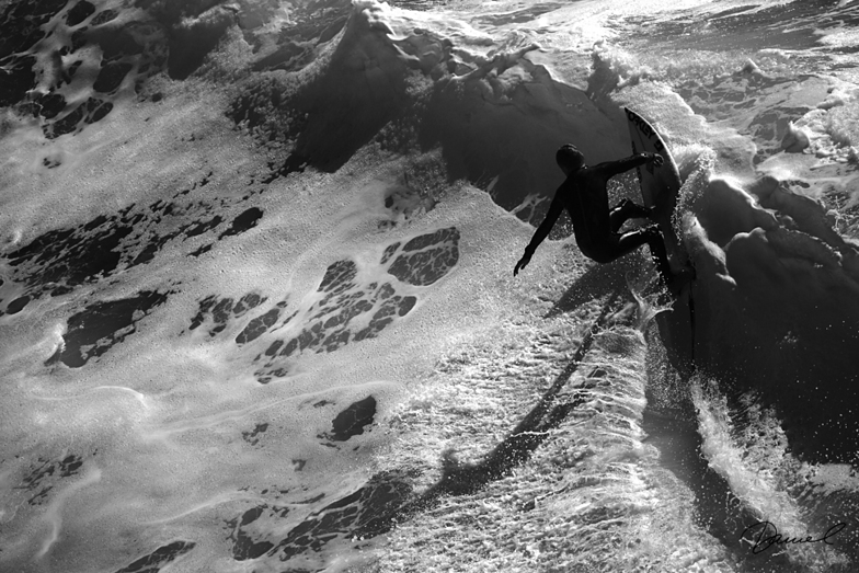 Slot Shadow, Steamer Lane-The Slot