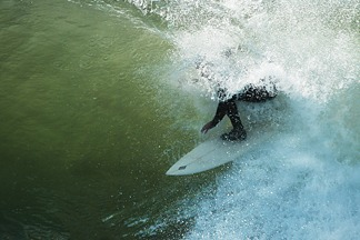Slot Cover, Steamer Lane-The Slot