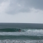 Nice small waves at the beach, Kudat