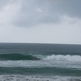 9ft SUP and he got inside, Kudat (Pantai Kosuhui)