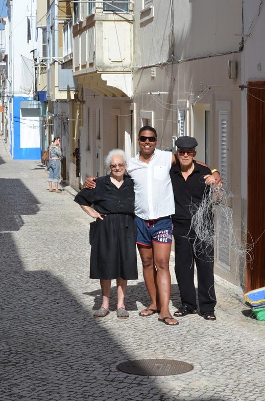 mis abuelos, Nazare
