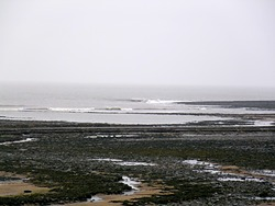 Low Tide west of Gileston photo
