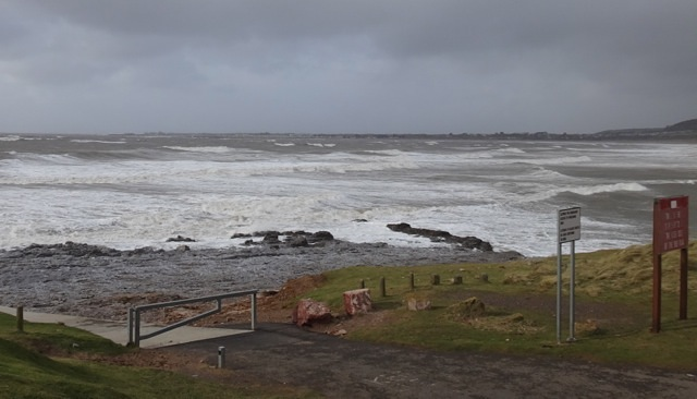Ogmore blown out, Ogmore-by-Sea