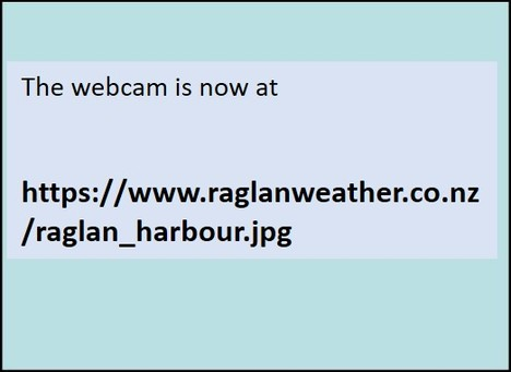 Raglan-Whale Bay Webcam