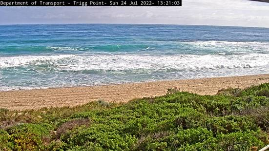 Trigg Beach and Point Webcam