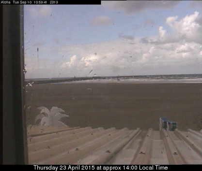 Webcam beeld van 14.00 uur, elke dag een nieuw beeld