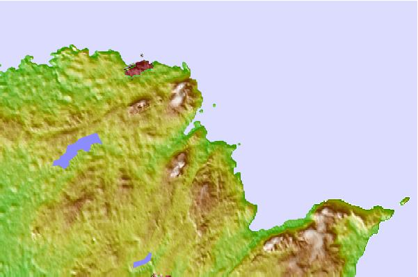 Surf spots located close to Traeth Lligwy