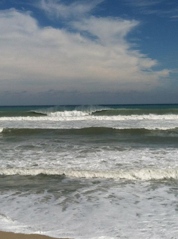 Jap Rock surf break