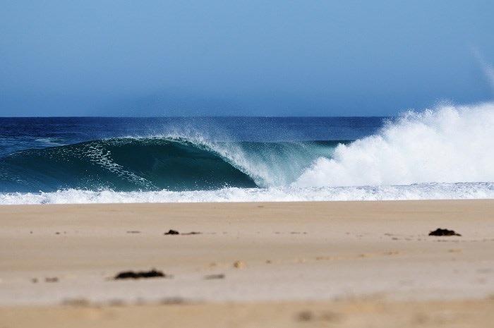 West Cape surf break