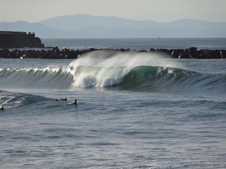 Playa de Gros surf break