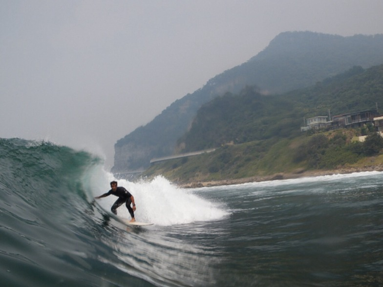 Coalcliff surf break