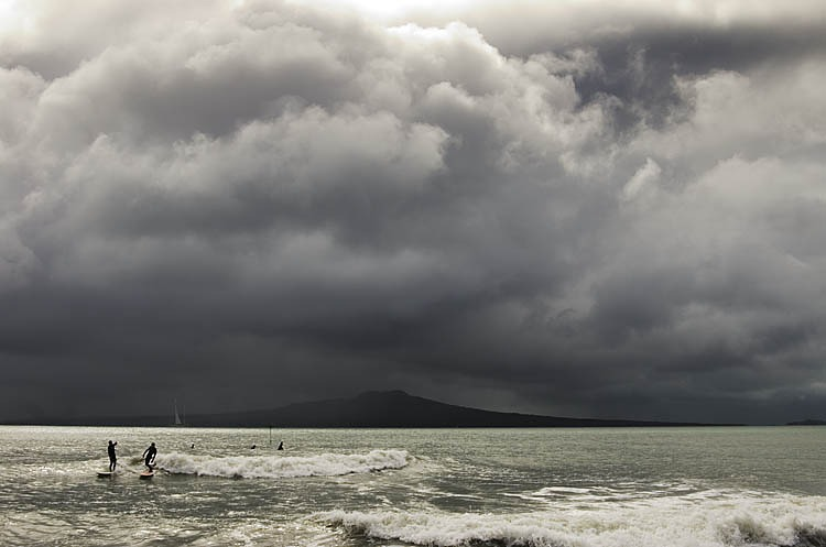 Takapuna-North Reef surf break