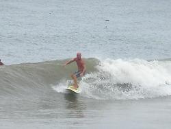 Small but clean right hander, Urbiztondo Beach photo