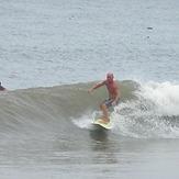 Small but clean right hander, Urbiztondo Beach