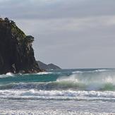 Morning surf, Awana