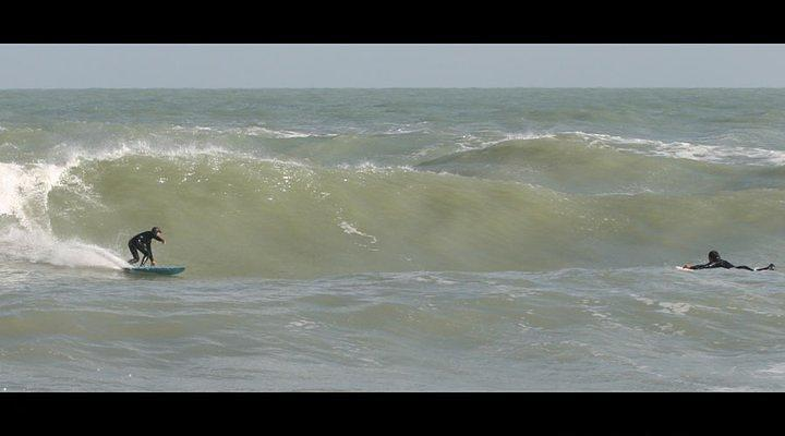 Rock Island (Rimini) surf break