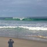 south trigg pumping, Trigg Beach