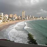 surf en benidorm, Playa Poniente