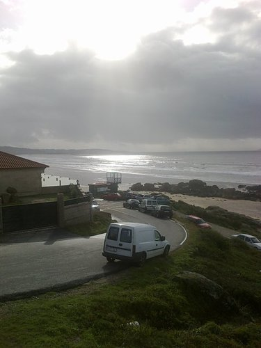 New Year 2013, Playa de Lanzada