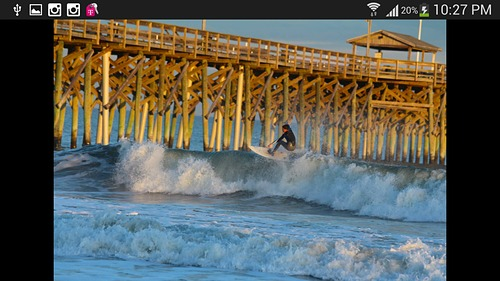 Just Float'n, The Pier