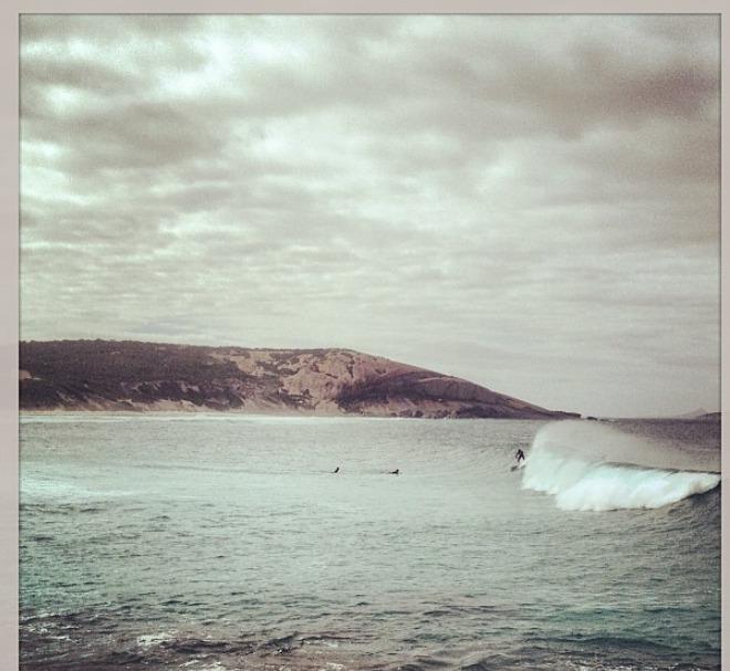 Chapmans Point surf break