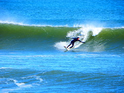 Great Friday surf, Broad Cove photo