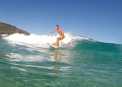 surfing, Blueys Beach photo