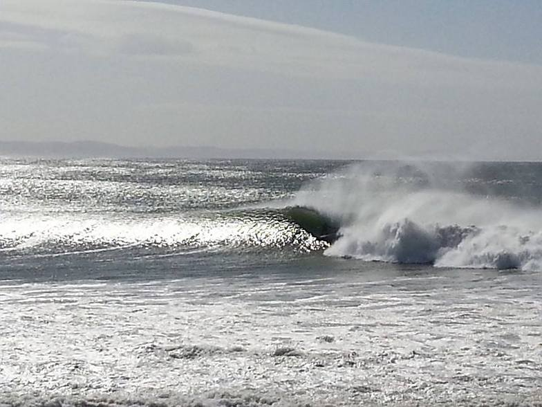 "super tubes ""COOOOOOOKING"" 15ft swell, J-Bay"