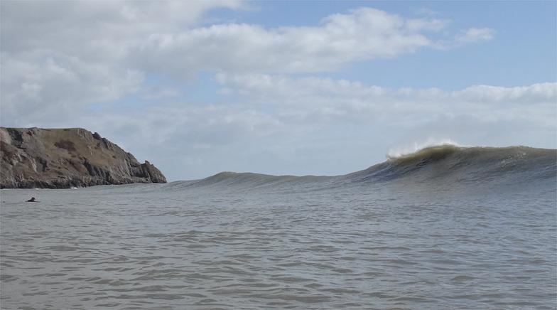 Three Cliffs Bay break guide