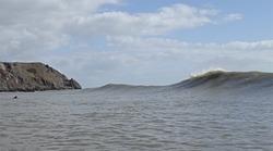 Three cliffs, sort of working, Three Cliffs Bay photo