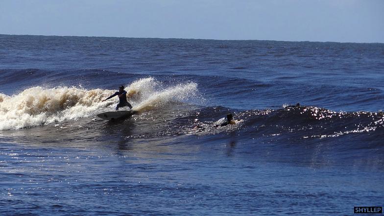 Molhes de Mampituba surf break