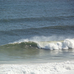 Brenton on Sea, big swell, SE cross offshore., Buffalo Bay Wildside