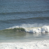 Brenton on Sea, big swell, SE cross offshore., Buffalo Bay Wildside
