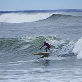 Big surf, Broad Cove