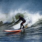 Sunny Thursday Surf, Broad Cove
