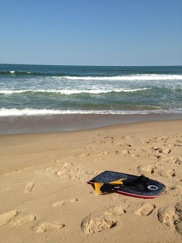 Croatan surf break