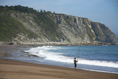 Playa de Aizkorri surf break