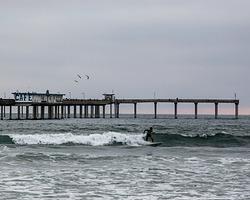 Overcast Ocean Beach photo