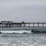 Overcast Ocean Beach