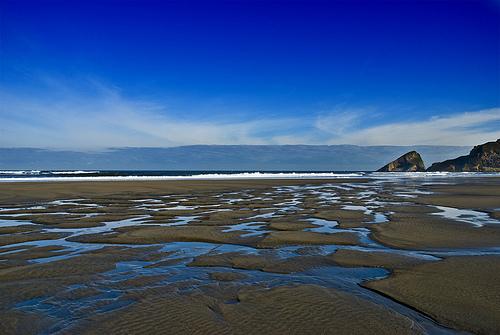 Playa de Bayas surf break