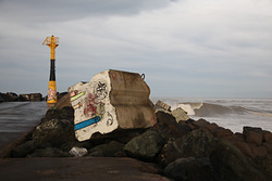 Left from the jetty, Anglet - La Barre photo