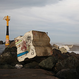 Left from the jetty, Anglet - La Barre