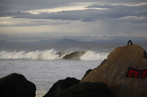 Hollow and fast at the back, Anglet - Les Cavaliers