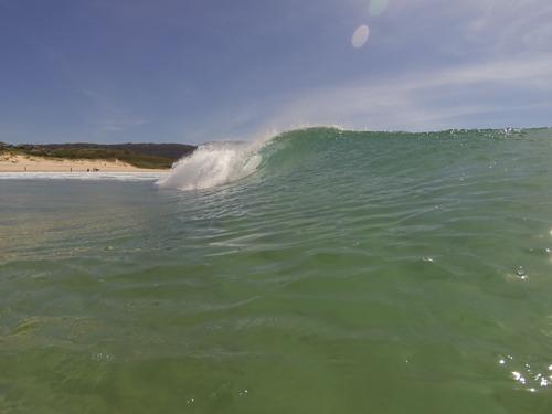 tubo doniños, Playa de Doninos