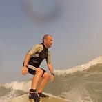 Surfing in Kuwait - between Mangaf & Messilah