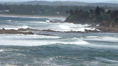 Tomaga Rivermouth, southerly front