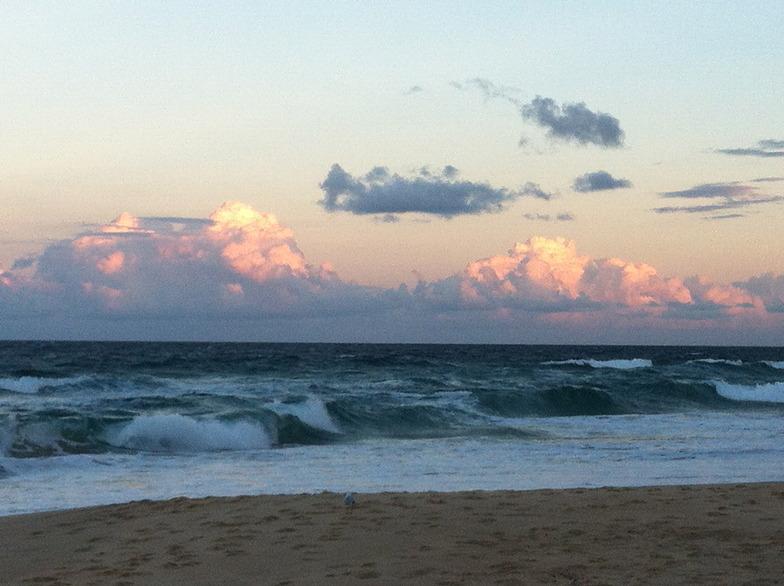 stormy sunset, Yaroomba Beach