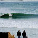 Perfect left, Baja Malibu