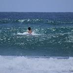 Getting past the break, Sandbank