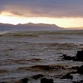 Waves breaking off Patons Rock